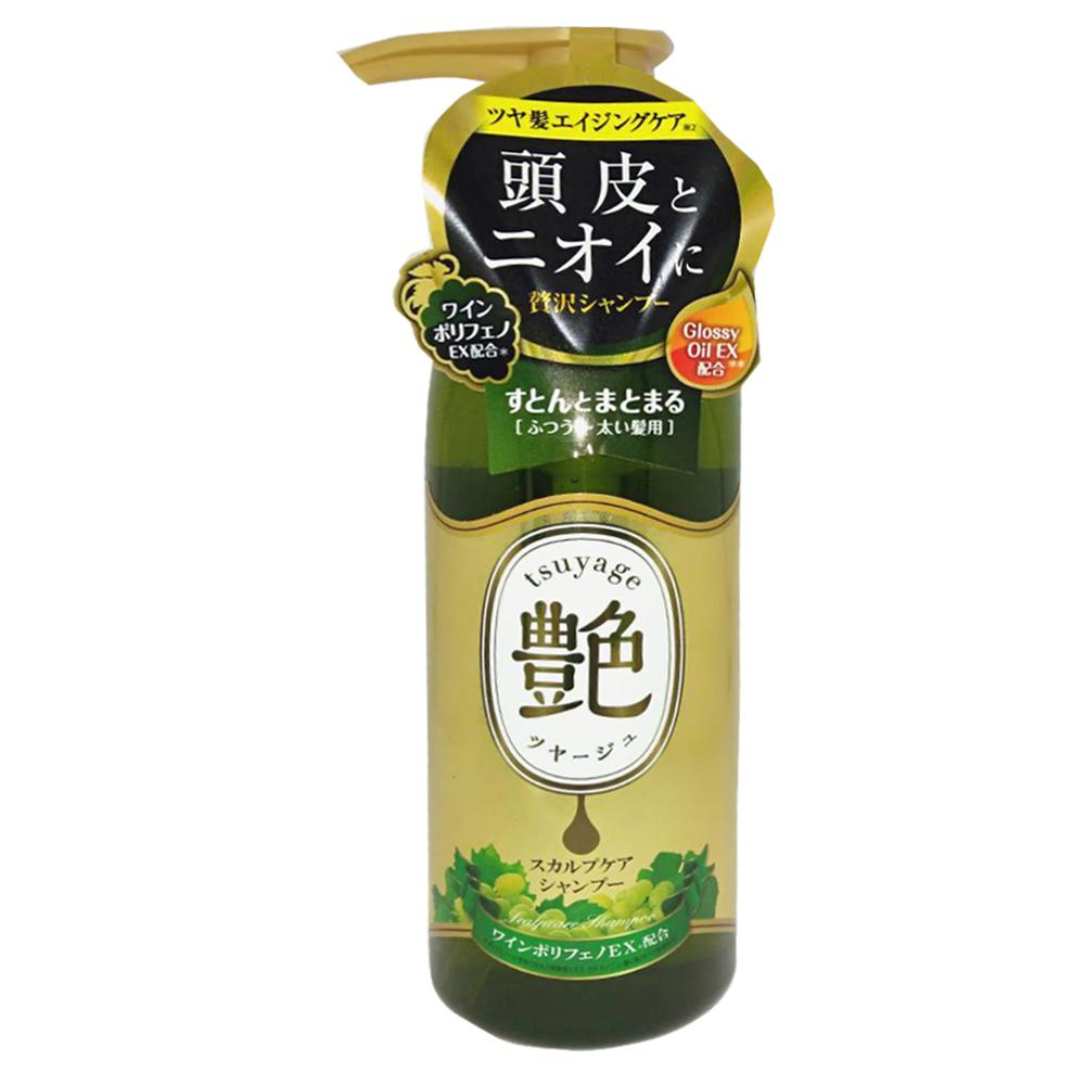 日本Graphico 頭皮修護艷髮洗髮精-白葡萄香氛味(細髮專用)400ml @ Y!購物