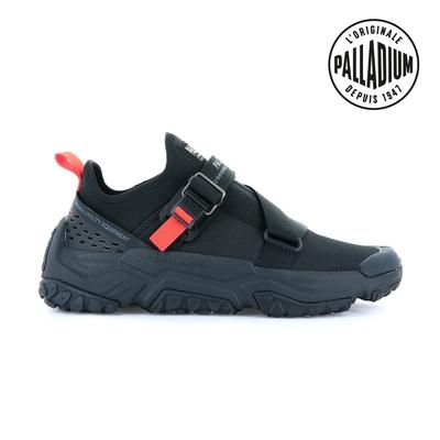 PALLADIUM OFF-GRID LO UTILITY快穿輕量輪胎潮鞋(扣帶)-中性-黑