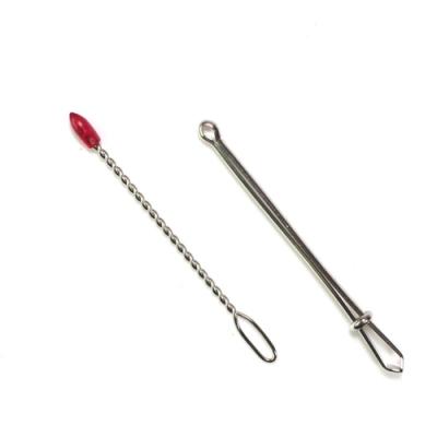 日本可樂牌Clover穿帶繩器穿繩器35-102穿帶器(2入;長7公分)穿線器鬆緊帶穿針夾式穿帶夾
