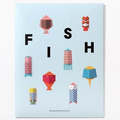 Fish 魚兒勞作遊戲書