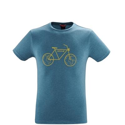 LAFUMA 男 ADVENTURE CYCLE 短袖排汗衣 湛藍-LFV119109493