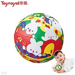 【任選】日本《樂雅 Toyroyal》沛醬兔mini遊戲球 (玩耍球)
