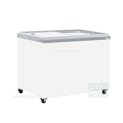 Hiron海容 3尺7 平面玻璃推拉冷凍櫃 (HSD-358)