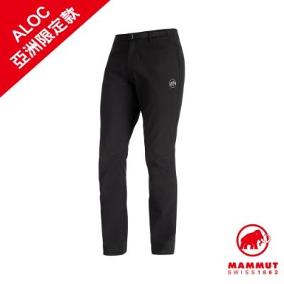 【Mammut 長毛象】Convey Pants Men 彈性防潑水長褲 黑色 男款 #1022-00371