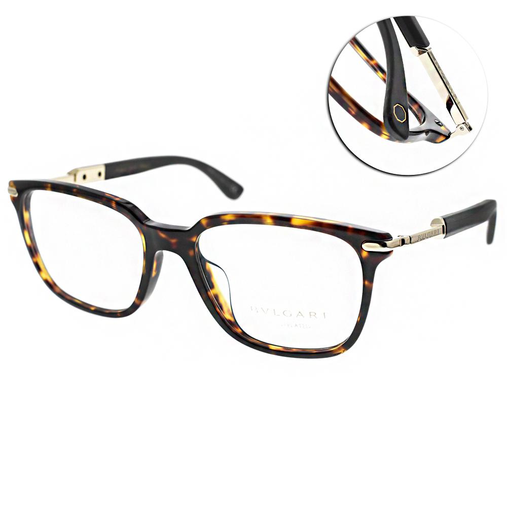 BVLGARI 眼鏡 浪漫經典大框/琥珀-金#BG3034KF 5286 @ Y!購物