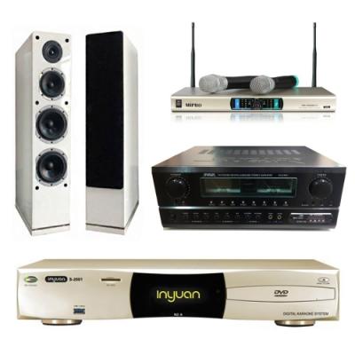 音圓N2A+SA-830U+AS-168+MR-3000D IV(伴唱機 4TB+卡拉OK套組)