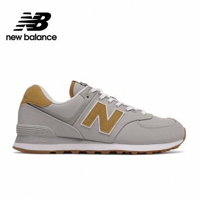 [New Balance]復古運動鞋_中性_灰咖色_ML574BM2-D楦