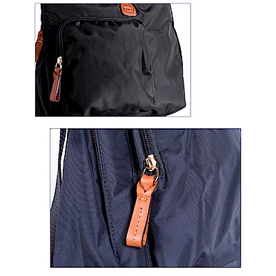 BRICS 義大利時尚 女仕斜背包 深藍 多收納口袋