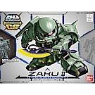 BANDAI SD鋼彈 CROSS SILHOUETTE系列 薩克 ZAKU Ⅱ 04