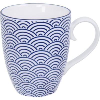 《Tokyo Design》瓷製馬克杯(浪紋藍325ml)