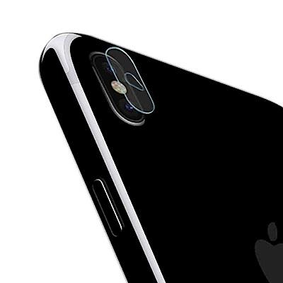 嚴選奇機膜 (<b>2</b>入加<b>1</b>組防塵套)iPhone Xs <b>5</b>.8吋 鏡頭鋼化玻璃膜 鏡頭玻璃膜