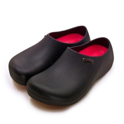 GOODYEAR 輕量防水防潑濺廚師餐飲業工作鞋 G5系列 黑 93900