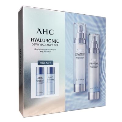 韓國AHC 玻尿酸神仙水保養組合4件組100mlX2+30mlX2