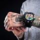 BOMBERG 炸彈錶 特別版 BOLT-68 阿茲提克羽蛇神計時碼錶 手錶(BS45CHPBA.QUETZ1.3) product thumbnail 1