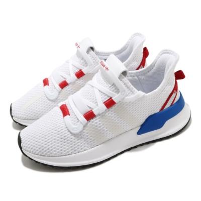 adidas 休閒鞋 U Path Run 襪套式 男女鞋 愛迪達 運動休閒 球鞋穿搭 情侶鞋 白 紅 FY2417