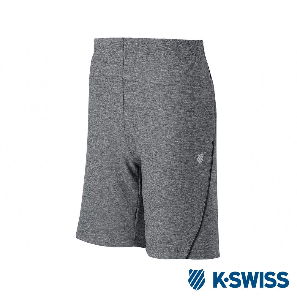 K-SWISS PF RE Melange Shorts運動短褲-男-灰