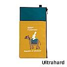 Ultrahard 月見兔手機袋/Plus- 騎駱駝(黃綠)
