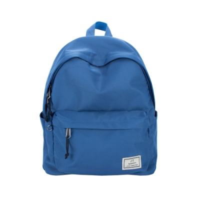 J II 經典水洗防潑水後背包-天藍色-6296-3