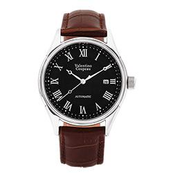 Valentino Coupeau 范倫鐵諾 古柏 經典羅馬機械錶(白殼/黑面/咖皮)