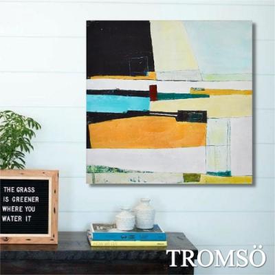 TROMSO百勝藝術立體抽象油畫-W406