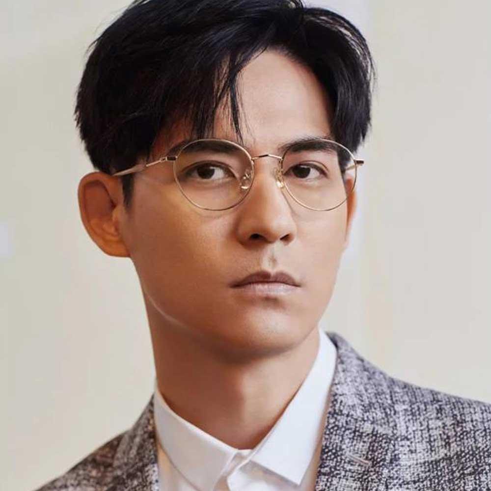 SEROVA眼鏡 周渝民配戴/金#SL323 C01
