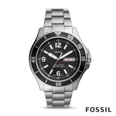 FOSSIL FB-02 豪邁風格鍊帶男錶 48MM FS5687