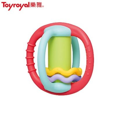 日本《樂雅 Toyroyal》牙膠小行星搖鈴