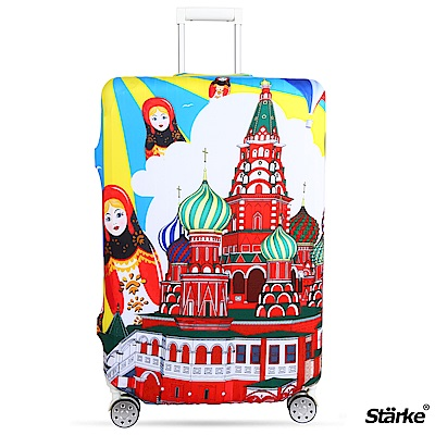 Starke 適用23-26吋高彈性行李箱套 -俄國娃娃
