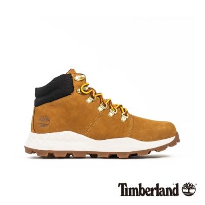 Timberland 男款小麥色絨毛磨砂革運動鞋|A27P4