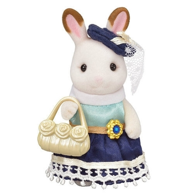 任選 日本 EPOCH 森林家族 TOWN可可兔小姐 EP29420