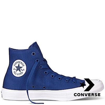CONVERSE-All Star HI男女休閒鞋-藍
