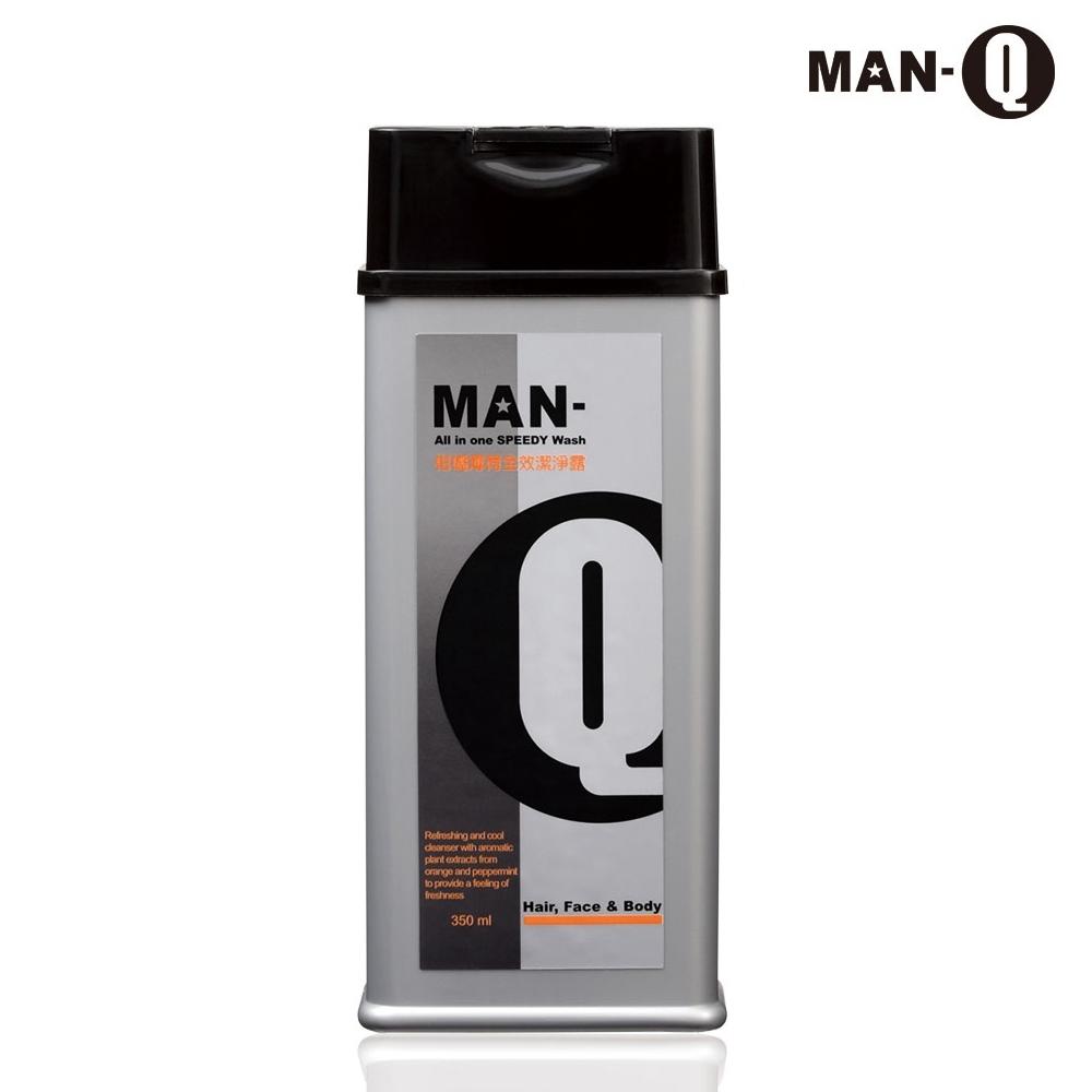 MAN-Q S2柑橘薄荷全效潔淨露(350ml)