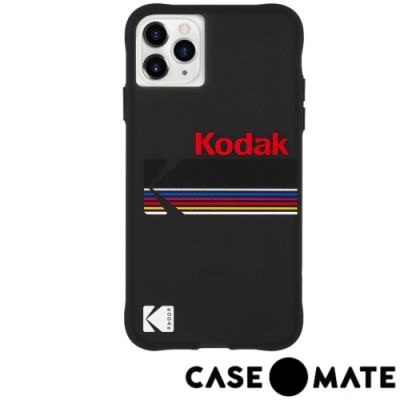 美國Case-Mate iPhone 11 Pro Max 柯達聯名款防摔殼 - 霧黑