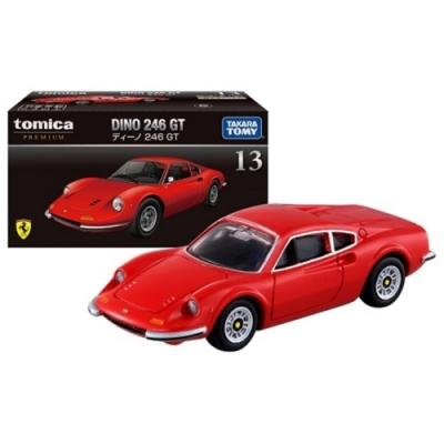任選TOMICA PREMIUM 13 法拉利Dino 246 GT 紅 TM11421