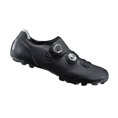 【SHIMANO】XC901 男性登山車越野競賽級車鞋 寬楦 黑色