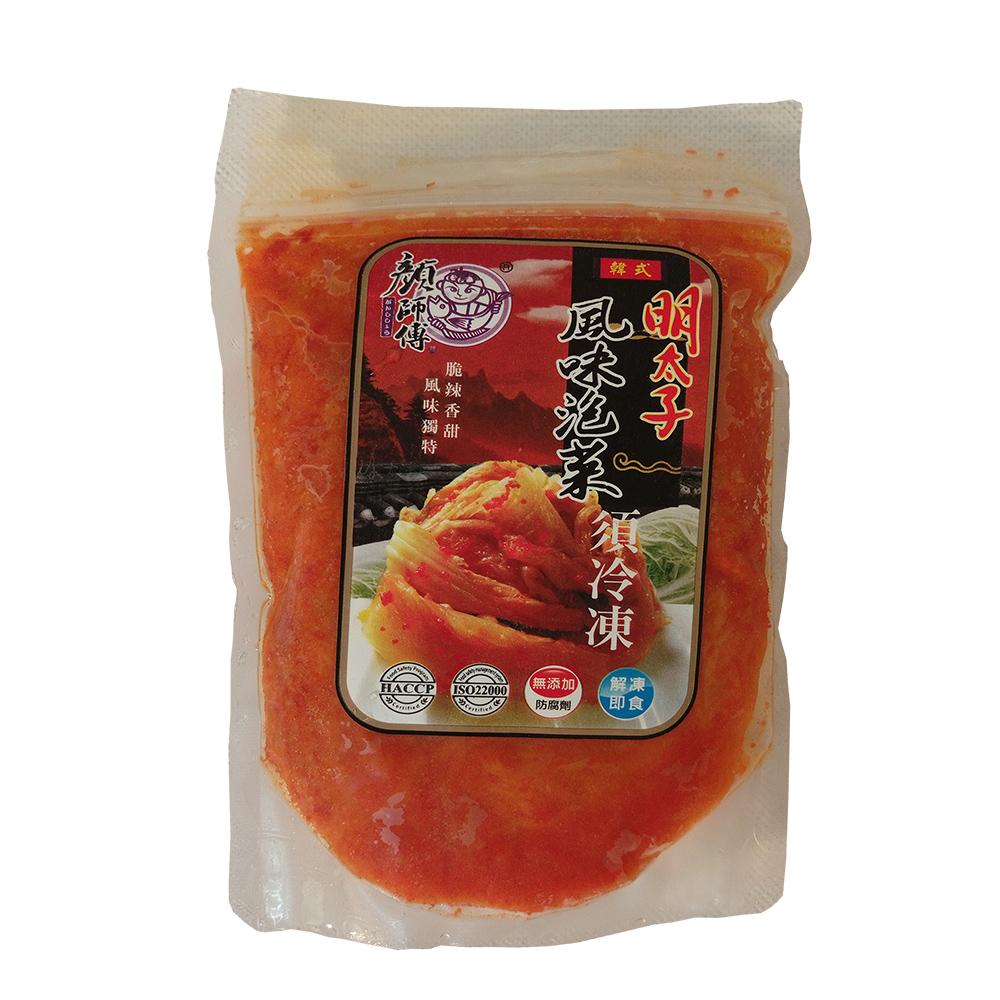 任-顏師傅-明太子風味泡菜(250g/包)