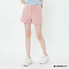 Hang Ten - 女裝 - 經典簡約配色中腰短褲 - 粉