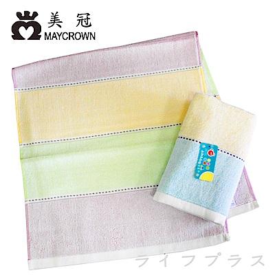 三色純棉毛巾-1125/高級精梳紗毛巾-1919-6入組