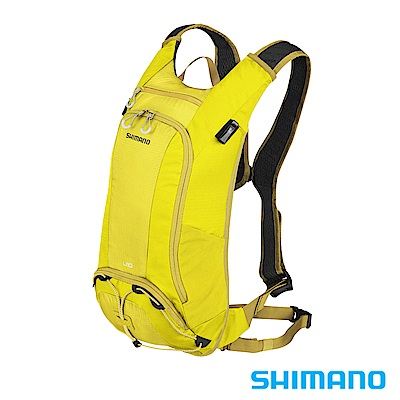 SHIMANO UNZEN 登山車後背包-無水袋10L 橄欖黃