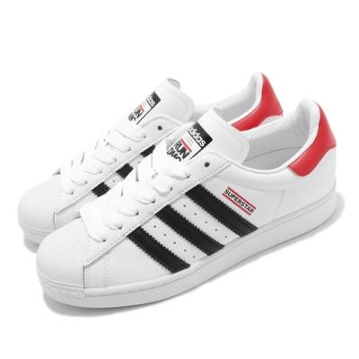 adidas 休閒鞋 Superstar 50 復古 低筒 男女鞋 愛迪達 三葉草 Run DMC 貝殼頭 白 黑 FX7616