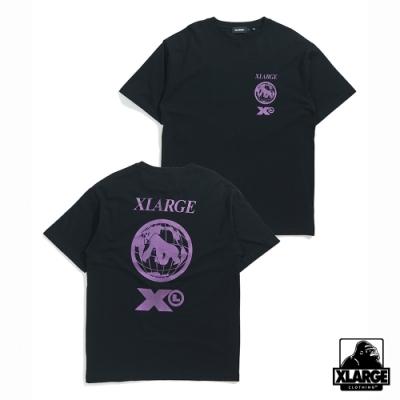 XLARGE S/S TEE MOMENT短袖T恤-黑