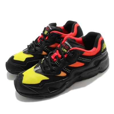 New Balance 休閒鞋 850 復古 Sunset 男鞋 紐巴倫 波浪狀 不對稱剪裁 異材質 黑 黃 ML850KL2D