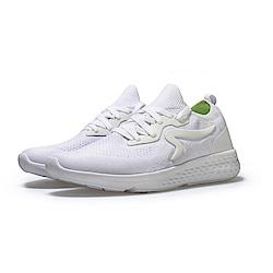 【ZEPRO】男子Q-RUN運動時尚休閒鞋-經典白