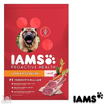 IAMS 愛慕思 健康優活 羊肉+米 成犬糧 7磅