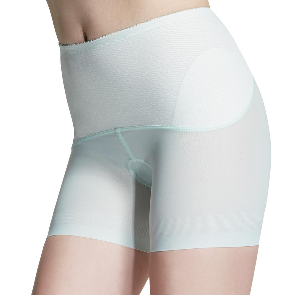 【ohoh-mini 孕婦裝】產後輕機能無痕塑束褲(綠色)