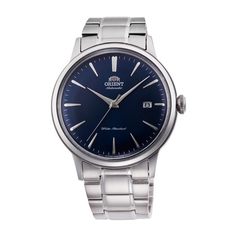 ORIENT 東方錶 復古巨蛋型球面玻璃 機械錶(RA-AC0007L)藍/40.5mm