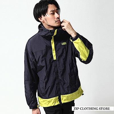 拼接運動混搭登山外套(3色) ZIP日本男裝