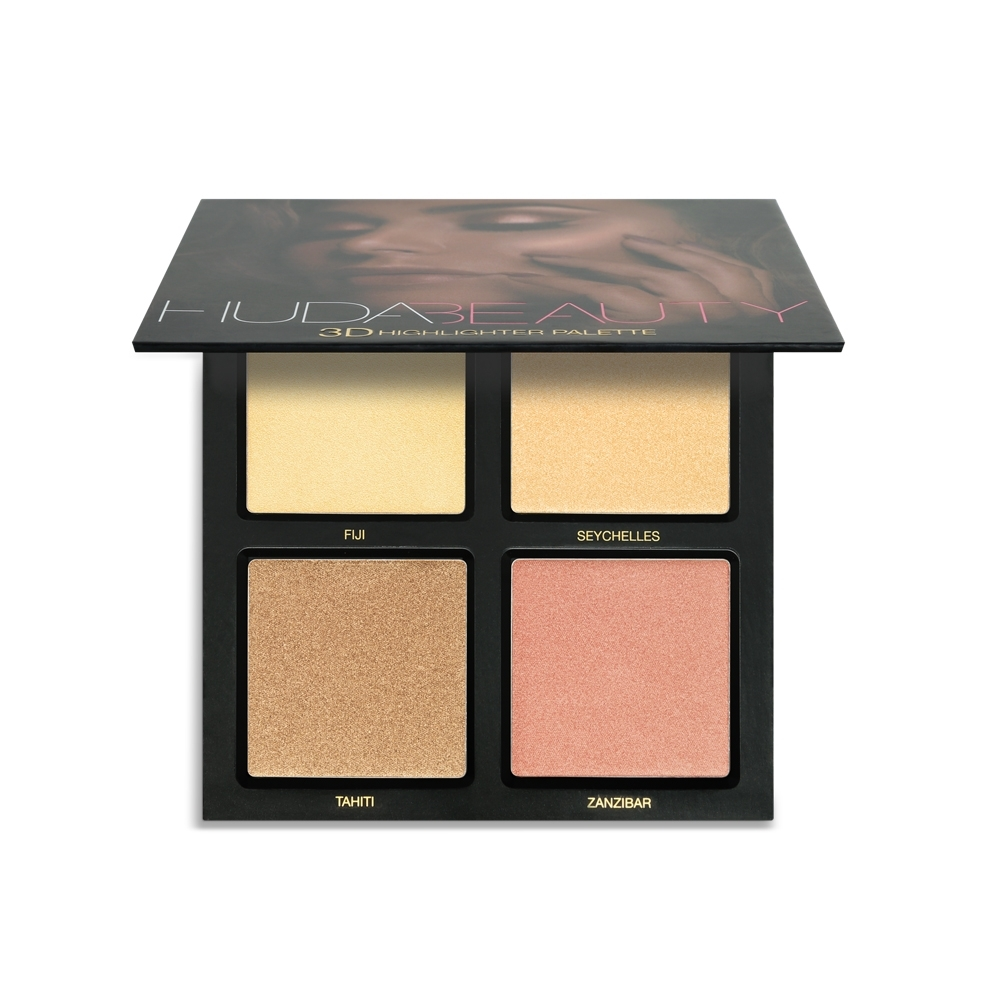 HUDA BEAUTY 3D四色修容打亮盤#GOLDEN SANDS 30g
