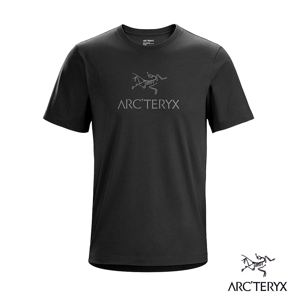 Arcteryx 始祖鳥 男 ArcWord 百分百有機棉 短袖 休閒Tee 黑II