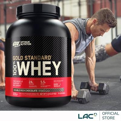 【LAC利維喜】ON歐恩 乳清蛋白5磅-雙倍巧克力/香草(高蛋白/ON金牌/運動纖盈)